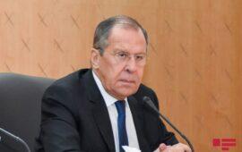 Lavrov Dağlıq Qarabağın Rusiya-Türkiyə əməkdaşlığında prioritet təşkil etdiyini bildirib