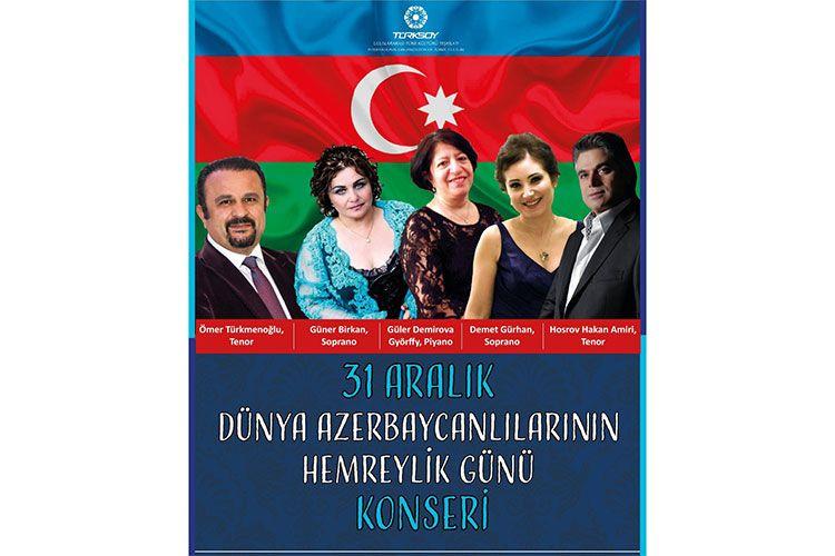 Türkiyədə Dünya Azərbaycanlılarının Həmrəyliyi Günü zəfər proqramı ilə qeyd edilib