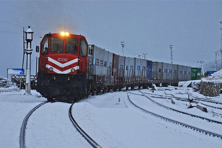 Türkiyədən BTQ dəmir yolu ilə Rusiyaya ilk qatar yola salınıb