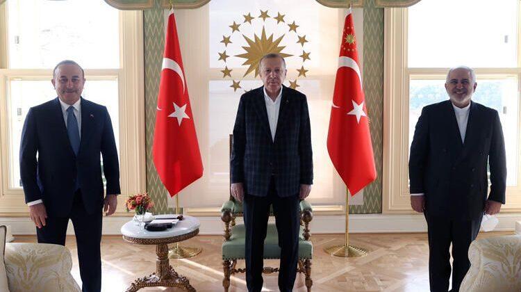 Türkiyə Prezidenti Cavad Zərifi qəbul edib