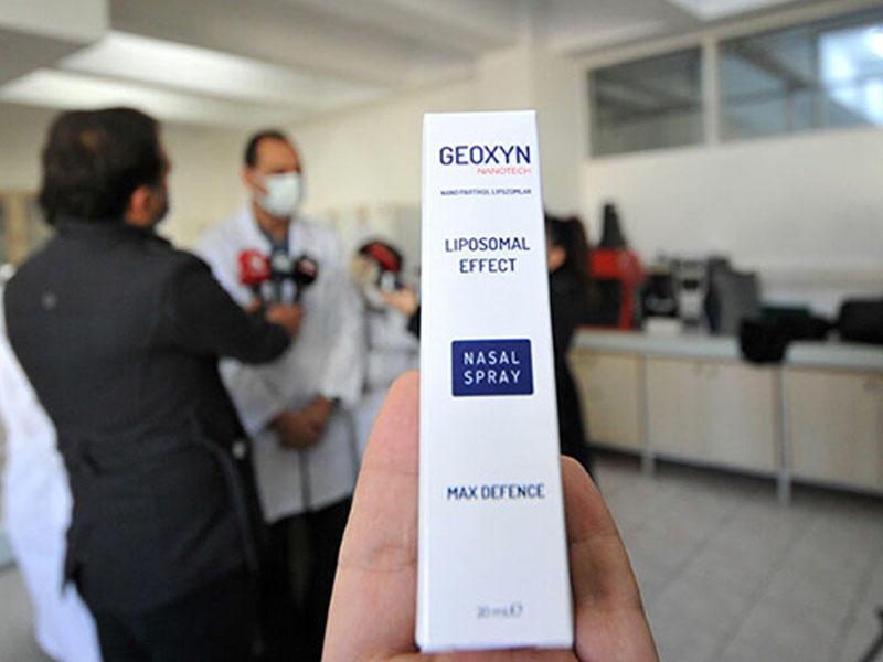 Türklər 1 dəqiqədə koronavirusu öldürən sprey yaratdılar