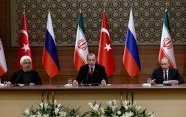 Türkiyə, Rusiya və İran tərəflərinin 16-17 fevralda Soçidə Suriya ilə əlaqədar görüşü olacaq